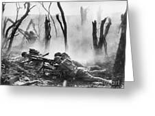 World War I: Battlefield Greeting Card