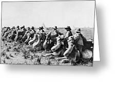 World War I: Camel Corps Greeting Card