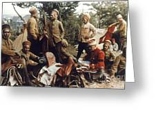 World War I: French Troops Greeting Card