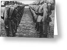World War I: German Troop Greeting Card by Granger