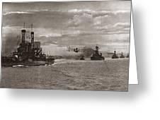 World War I: Naval Fleet Greeting Card