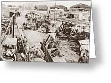 World War I: Plane Repair Greeting Card
