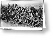 World War I: Prisoners Greeting Card