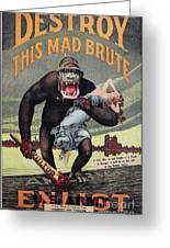 World War I: Recruitment Greeting Card by Granger
