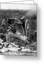 World War I: U.s. Artillery Greeting Card