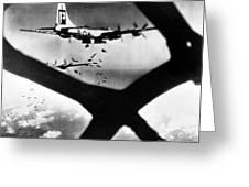 World War II B-29 1945 Greeting Card