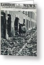 World War II: Blitz, 1940 Greeting Card