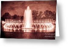 World War II Memorial IIib Greeting Card