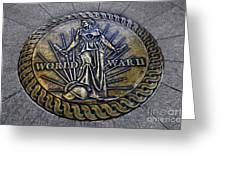 World War II Monument Greeting Card