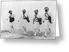 World War II: Nurses Greeting Card by Granger