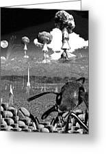 Book Illustation - World War Zero Greeting Card