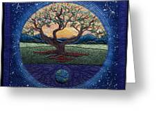 World Within Worlds Greeting Card