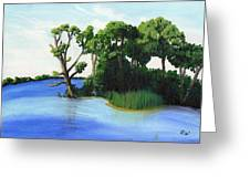 Worlds Away Off The Wye River Greeting Card