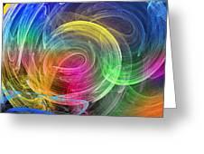Wormhole Greeting Card