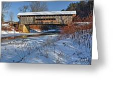 Worrall Covered Bridge Greeting Card