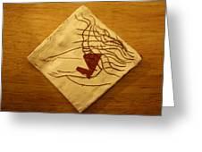 Worship - Tile Greeting Card