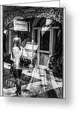 Worth Ave Reflections 0509 Greeting Card
