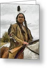 Wounded Knee Greeting Card