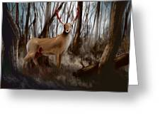 Wounded Wanderer Greeting Card