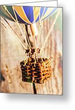 Woven Air Craft Greeting Card
