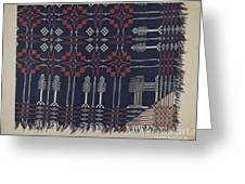 Woven Coverlet Greeting Card