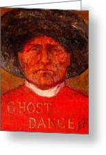 Wovoka -ghost Dance Greeting Card