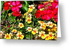 Wp Floral Study 1 2014 Greeting Card