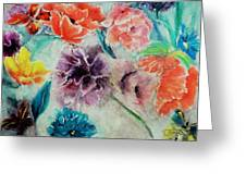 Wrap It Up In Spring By Lisa Kaiser Greeting Card