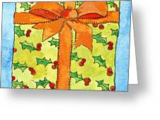 Wrapped Gift Greeting Card