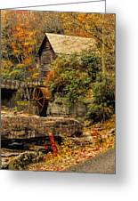 Wrapped In Autumn Greeting Card