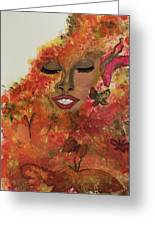 Wrapped In Bliss Greeting Card