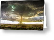 Wray Colorado Tornado 070 Greeting Card