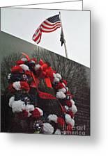 Wreath Of The Korean War Greeting Card
