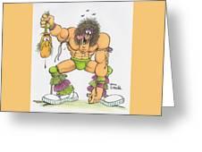 Wrestlemania Greeting Card