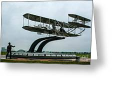 Wright Flyer Memorial Greeting Card