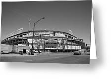 Wrigley Field - Chicago Cubs 21 Greeting Card