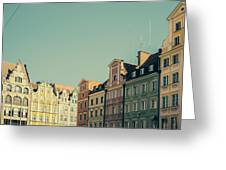Wroclaw Architecture Greeting Card
