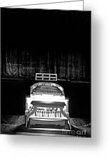 Wurlitzer Organ In The Lincoln Theatre Greeting Card