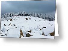 Wurmberg, Harz Mountains Greeting Card