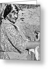 Wuzzie Northern Paiute Greeting Card