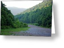 Wv Hollow Greeting Card
