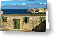 Ww2 Fortification Door Greeting Card