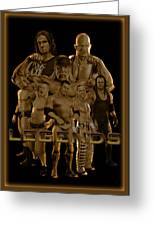 Wwe Legends By Gbs Greeting Card