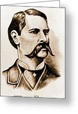 Wyatt Earp Greeting Card
