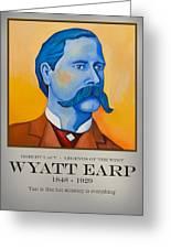 Wyatt Earp Poster Greeting Card