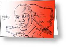 Wyclef Jean For President Of Haiti  Greeting Card