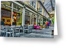 Wyndham Arcade Cafe 3 Greeting Card