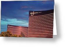 Wynn And Encore In Las Vegas Greeting Card