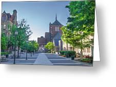 Wynn Commons - University Of Pennsylvania Greeting Card