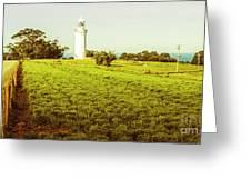 Wynyard Lighthouse Way Greeting Card